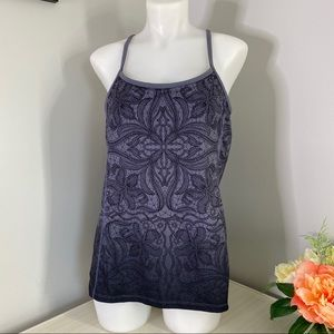 Athleta Harmonious Tank in Ombre Gray